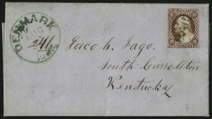 Sale Number 996, Lot Number 3129, 3c Dull Red Shades - Covers3c Brownish Carmine, Ty. II (11A), 3c Brownish Carmine, Ty. II (11A)