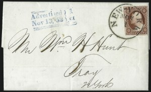 Sale Number 996, Lot Number 3130, 3c Dull Red Shades - Covers3c Brownish Carmine, Ty. II (11A), 3c Brownish Carmine, Ty. II (11A)