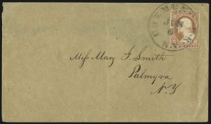 Sale Number 996, Lot Number 3131, 3c Dull Red Shades - Covers3c Dull Red, Ty. II (11A), 3c Dull Red, Ty. II (11A)