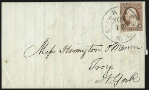 Sale Number 996, Lot Number 3132, 3c Dull Red Shades - Covers3c Dull Red, Ty. II (11A), 3c Dull Red, Ty. II (11A)