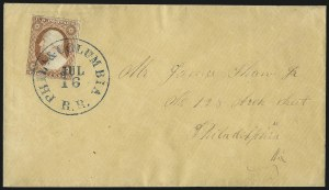 Sale Number 996, Lot Number 3134, 3c Dull Red Shades - Covers3c Dull Red, Ty. II (11A), 3c Dull Red, Ty. II (11A)