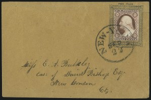 Sale Number 996, Lot Number 3143, 3c Dull Red Shades - Covers3c Dull Red, Ty. II (11A), 3c Dull Red, Ty. II (11A)