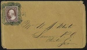 Sale Number 996, Lot Number 3145, 3c Dull Red Shades - Covers3c Brownish Carmine, Ty. II (11A), 3c Brownish Carmine, Ty. II (11A)