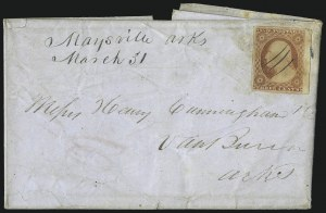 Sale Number 996, Lot Number 3147, 3c Dull Red Shades - Covers3c Dull Red, Ty. II (11A), 3c Dull Red, Ty. II (11A)