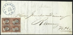 Sale Number 996, Lot Number 3150, 3c Dull Red Shades - Covers3c Rose Red, Ty. II (11A), 3c Rose Red, Ty. II (11A)