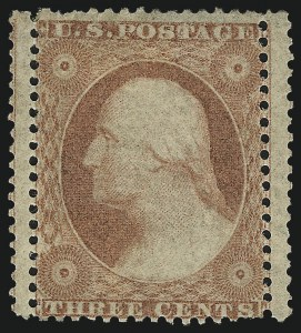 Sale Number 996, Lot Number 3211, 1857 3c Perforated Issue - Type III3c Dull Red, Ty. III (26), 3c Dull Red, Ty. III (26)