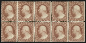 Sale Number 996, Lot Number 3212, 1857 3c Perforated Issue - Type III3c Dull Red, Ty. III (26), 3c Dull Red, Ty. III (26)