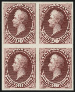 Sale Number 997, Lot Number 5025, Essays and Proofs - Bank Note Issues1c-90c National Bank Note Co., Plate Proofs on India (145P3-155P3), 1c-90c National Bank Note Co., Plate Proofs on India (145P3-155P3)