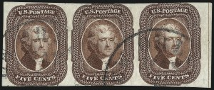 Sale Number 997, Lot Number 5173, 5c 1856 Issue (Scott 12)5c Red Brown (12), 5c Red Brown (12)