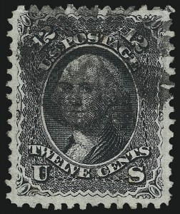 Sale Number 997, Lot Number 5390, 1867-68 Grilled Issue (E Grill - Scott 86-91)12c Black, E. Grill (90), 12c Black, E. Grill (90)