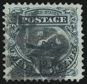 Sale Number 997, Lot Number 5459, 1c-12c 1869 Pictorial Issue (Scott 112-117)12c Green (117), 12c Green (117)