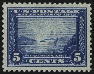 Sale Number 997, Lot Number 5959, 1913-15 Panama-Pacific Issue (Scott 397-404)5c Panama-Pacific (399), 5c Panama-Pacific (399)