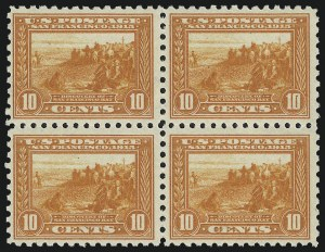 Sale Number 997, Lot Number 5981, 1913-15 Panama-Pacific Issue (Scott 397-404)10c Panama-Pacific, Perf 10 (404), 10c Panama-Pacific, Perf 10 (404)