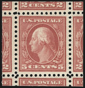 Sale Number 997, Lot Number 6041, 1917-19 Issues (Scott 481-524)5c Rose, Error (505), 5c Rose, Error (505)