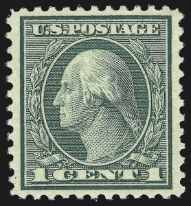 Sale Number 997, Lot Number 6079, 1919-20 Issues (Scott 537-550)1c Green, Rotary (545), 1c Green, Rotary (545)
