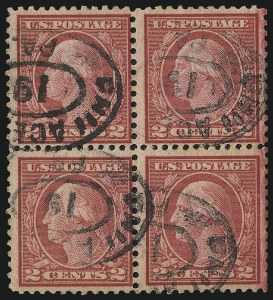Sale Number 997, Lot Number 6080, 1919-20 Issues (Scott 537-550)2c Carmine Rose, Ty. III, Rotary (546), 2c Carmine Rose, Ty. III, Rotary (546)