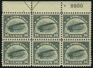 Sale Number 997, Lot Number 6850, Group Lots by Issue6c-24c 1918 Air Post (C1-C3), 6c-24c 1918 Air Post (C1-C3)