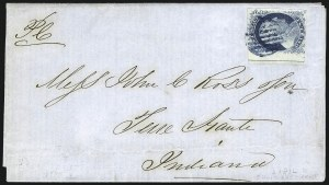 Sale Number 998, Lot Number 96, Plate One Late Imprint and Centerline Copies1c Blue, Ty. IV (9), 1c Blue, Ty. IV (9)