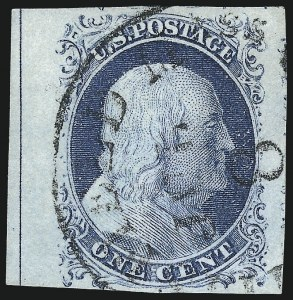 Sale Number 998, Lot Number 99, Plate One Late Imprint and Centerline Copies1c Blue, Ty. IV (9), 1c Blue, Ty. IV (9)