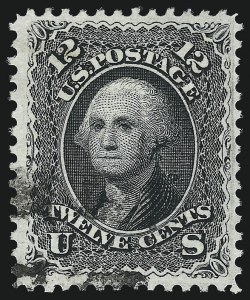 Sale Number 1007, Lot Number 2235, 1867-68 Grilled Issue (Scott 79-96)12c Black, E. Grill (90), 12c Black, E. Grill (90)