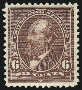 Sale Number 1007, Lot Number 2513, 1895 Watermarked Bureau Issue (Scott 268-284)6c Dull Brown, USIR Watermark (271a), 6c Dull Brown, USIR Watermark (271a)