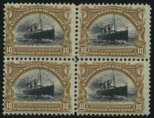 Sale Number 1007, Lot Number 2583, 1901 Pan-American Issue (Scott 294-299)8c, 10c Pan-American (298-299), 8c, 10c Pan-American (298-299)