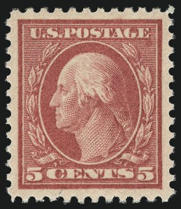 Sale Number 1007, Lot Number 2789, 1917-19 Issues (Scott 491-524)5c Rose, Error (505), 5c Rose, Error (505)