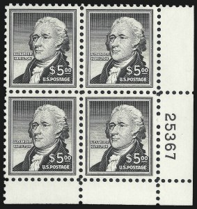 Sale Number 1007, Lot Number 2889, 1922 and Later Issues (Scott 578 onwards)$5.00 Hamilton (1053), $5.00 Hamilton (1053)
