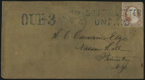 Sale Number 1010, Lot Number 173, Confederate States3c Dull Red, Ty. III (26), 3c Dull Red, Ty. III (26)