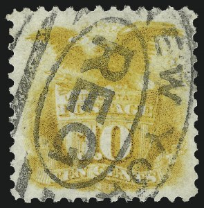 Sale Number 1010, Lot Number 61, 1869 Pictorial Issue and Re-Issue10c Yellow, Re-Issue (127), 10c Yellow, Re-Issue (127)