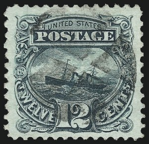Sale Number 1011, Lot Number 508, 10c-30c 1869 Pictorial Issue (Scott 116-121)12c Green (117), 12c Green (117)