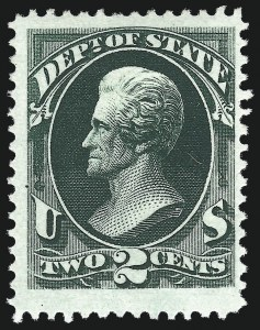 Sale Number 1011, Lot Number 890, Officials thru Newspapers (Scott O6-PR124)2c State (O58), 2c State (O58)