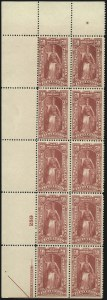 Sale Number 1011, Lot Number 903, Officials thru Newspapers (Scott O6-PR124)1c-50c Newspaper, 1895 Watermarked Issue (PR114-PR119), 1c-50c Newspaper, 1895 Watermarked Issue (PR114-PR119)