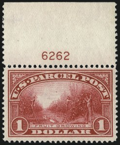Sale Number 1011, Lot Number 921, Parcel Post (Scott Q1-Q12, JQ)$1.00 Parcel Post (Q12), $1.00 Parcel Post (Q12)