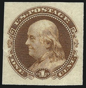 Sale Number 1013, Lot Number 102, 1869 Pictorial Issue Essays and Proofs1c Small Numeral, Plate Essay on Stamp Paper (112-E4b-112-E4c), 1c Small Numeral, Plate Essay on Stamp Paper (112-E4b-112-E4c)