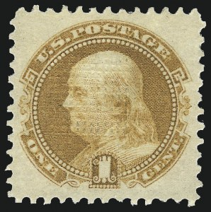 Sale Number 1013, Lot Number 133, 1869 Pictorial Issue Unused1c Buff (112), 1c Buff (112)
