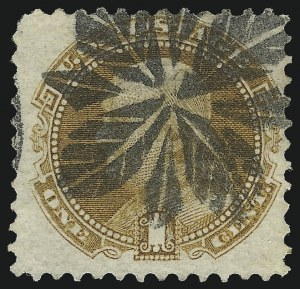 Sale Number 1013, Lot Number 145, 1869 Pictorial Issue Used and On Cover1c Buff (112), 1c Buff (112)