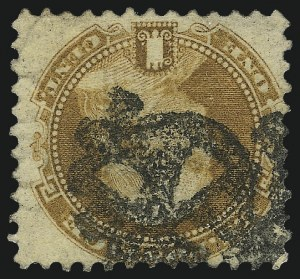Sale Number 1013, Lot Number 148, 1869 Pictorial Issue Used and On Cover1c Buff (112), 1c Buff (112)