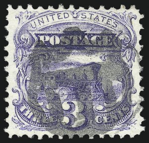 Sale Number 1013, Lot Number 169, 1869 Pictorial Issue Used and On Cover3c Ultramarine (114), 3c Ultramarine (114)