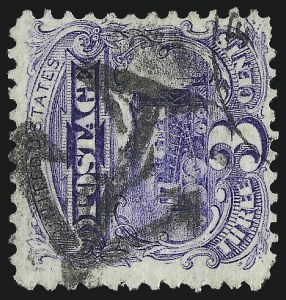Sale Number 1013, Lot Number 177, 1869 Pictorial Issue Used and On Cover3c Ultramarine (114), 3c Ultramarine (114)