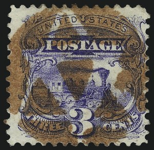 Sale Number 1013, Lot Number 179, 1869 Pictorial Issue Used and On Cover3c Ultramarine (114), 3c Ultramarine (114)