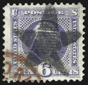 Sale Number 1013, Lot Number 193, 1869 Pictorial Issue Used and On Cover6c Ultramarine (115), 6c Ultramarine (115)