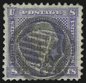 Sale Number 1013, Lot Number 194, 1869 Pictorial Issue Used and On Cover6c Ultramarine (115), 6c Ultramarine (115)