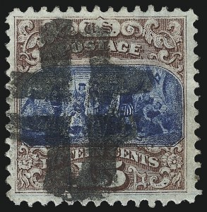 Sale Number 1013, Lot Number 209, 1869 Pictorial Issue Used and On Cover15c Brown & Blue, Ty. I (118), 15c Brown & Blue, Ty. I (118)