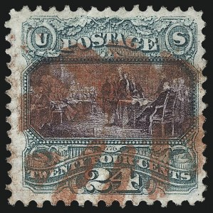 Sale Number 1013, Lot Number 221, 1869 Pictorial Issue Used and On Cover24c Green & Violet (120), 24c Green & Violet (120)