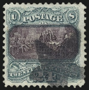 Sale Number 1013, Lot Number 225, 1869 Pictorial Issue Used and On Cover24c Green & Violet (120), 24c Green & Violet (120)