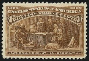 Sale Number 1013, Lot Number 308, Columbian Issue30c Columbian (239), 30c Columbian (239)