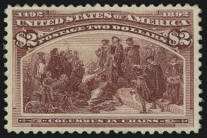 Sale Number 1013, Lot Number 310, Columbian Issue$2.00-$3.00 Columbian (242-243), $2.00-$3.00 Columbian (242-243)