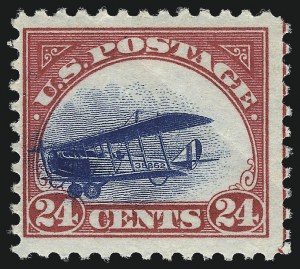 Sale Number 1013, Lot Number 486, Air Post24c Carmine Rose & Blue, 1918 Air Post (C3), 24c Carmine Rose & Blue, 1918 Air Post (C3)
