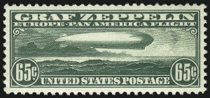 Sale Number 1013, Lot Number 489, Air Post65c Graf Zeppelin (C13), 65c Graf Zeppelin (C13)